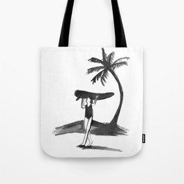 Surfer Girl - Summer Days Tote Bag