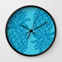 Pineapple Ocean Wall Clock