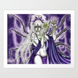The Illumination of Asteria Nyx Art Print