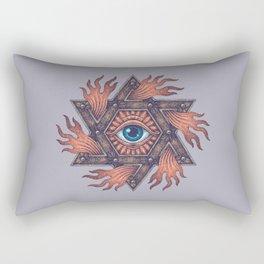 Inner gods Collection/01-rising star Rectangular Pillow