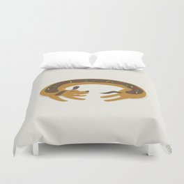 Sprinkled Dognut Duvet Cover