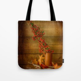 Autumn Still Life with Firethorn Tote Bag
