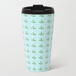 Leaves and Boomerangs Metal Travel Mug