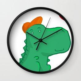 Dinoboy Wall Clock