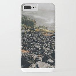 waterfall rocks iPhone Case
