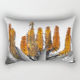 cactus floral Rectangular Pillow