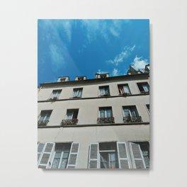 A Day In Paris Metal Print