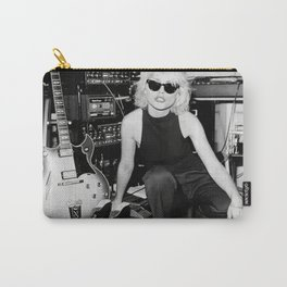 Blondie Poster,Debbie Harry Photograph,Vintage Photo,Rock Music Legends,Housewarming Gift,Home Decor,Photos and Prints,Music Art Carry-All Pouch