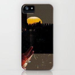 Hey Moon iPhone Case
