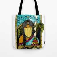 morocco Tote Bags featuring Morocco by ZANA