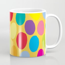 Yellow colour color spot pattern Coffee Mug