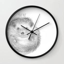 « David petit roi » Wall Clock