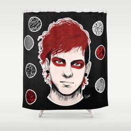 Blurryface Josh. Shower Curtain