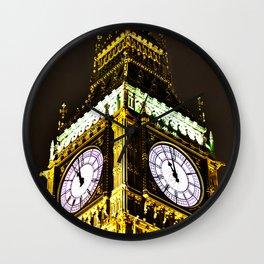 Big Ben in HDR Wall Clock