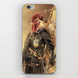 Fowl Samurai iPhone Skin