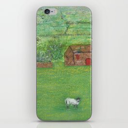 Sheep in the Countryside iPhone Skin