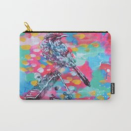 Bird and Ballerina Carry-All Pouch