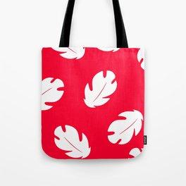 Lilo Hawaiian Floral Leaves Tote Bag