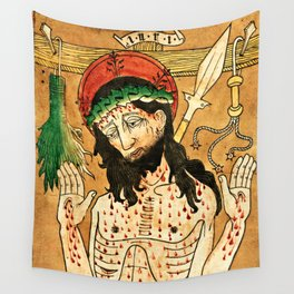 Man of Sorrows Wall Tapestry