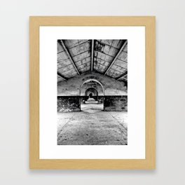 Abandoned Framed Art Print