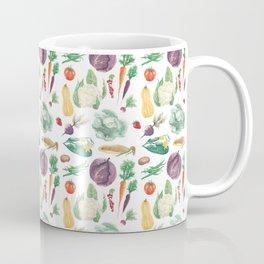 Watercolor vegetables Coffee Mug
