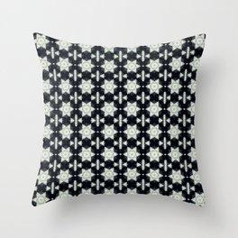 Snow Stars Throw Pillow