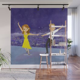 City of Stars Wall Mural