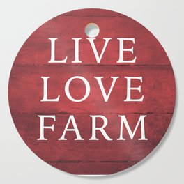 LIVE LOVE FARM Cutting Board