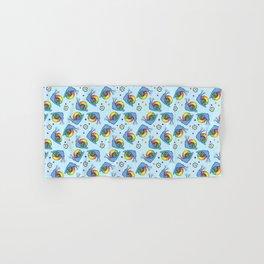 Rainbow Snail Hand & Bath Towel