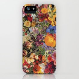 Flower Power Collage iPhone Case