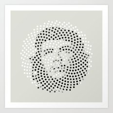 Optical Illusions - Iconical People 5 Art Print