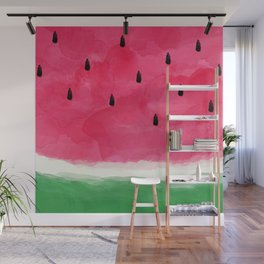 Watermelon Abstract Wall Mural