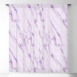 Purple Swirl Marble Blackout Curtain