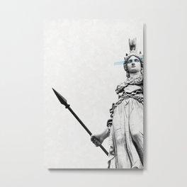 Athena the goddess of wisdom Metal Print