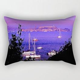 Alcatraz Island Rectangular Pillow