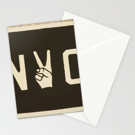 NYC Peace Sign (Color) Stationery Cards