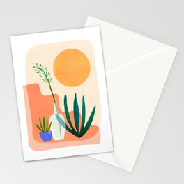Santa Fe Summer / Abstract Landscape Stationery Cards