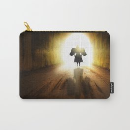 Angel In A Tunnel Of Light Carry-All Pouch
