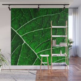 LEAF STRUCTURE GREENERY no2 Wall Mural