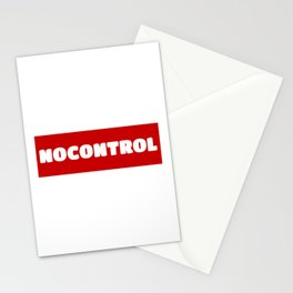 NoControl Stationery Cards