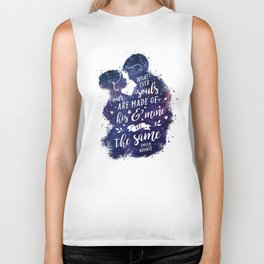 Whatever our souls Biker Tank