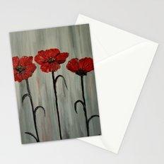 Poppy Trio Stationery Cards