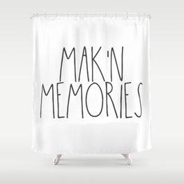 Mak'n Memories Shower Curtain
