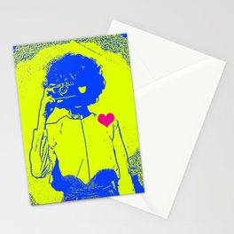 I <3 Photography, Woman Photographer Stationery Cards