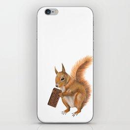 Super squirrel. iPhone Skin