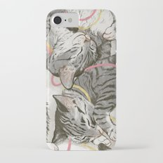 cats gold and rose Slim Case iPhone 7