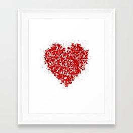 big heart 01 Framed Art Print