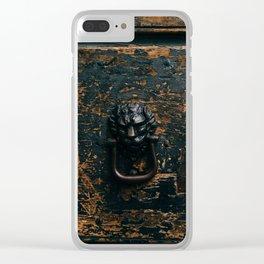 Roman Door XII Clear iPhone Case
