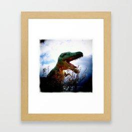 The Dinos of Canada Framed Art Print