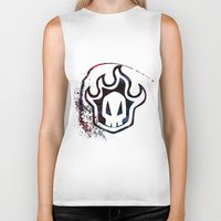 bleach Biker Tanks featuring Bleach by Bradley Bailey